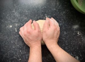 Best simple pizza dough knead the dough