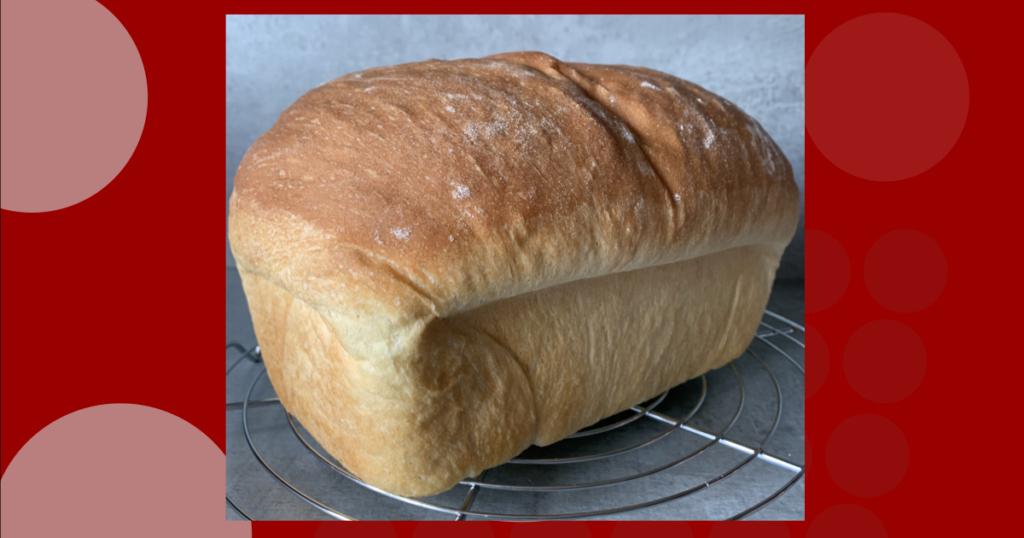 A light loaf fluffy white bread recipe for a soft white bread recipe